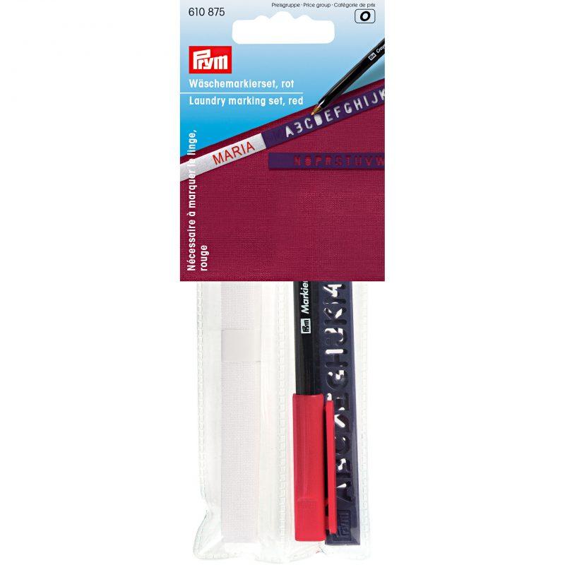 Necessaire pour marquer linge crayon rouge