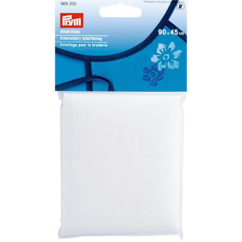 Entoilage  pour la broderie 90 x 45 cm blanc