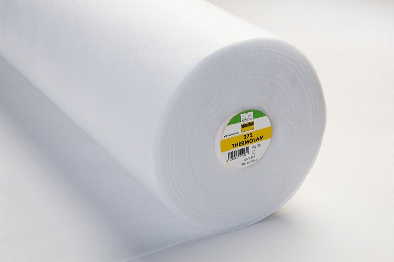 Vlieseline g 272 thermolam molleton polyester 90cm x25m