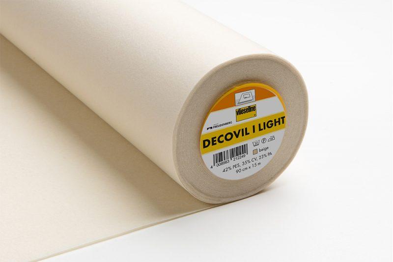 Vlieseline decovil i light  thermocollant larg  90cm