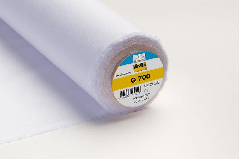 Vlieseline g 700 toile coton tissé polyvalent thermo pce 0.90x25m